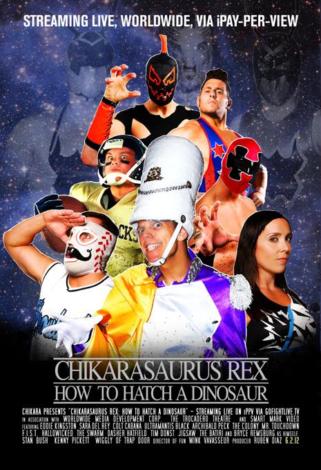 "CHIKARA ""Chikarasaurus Rex: How to Hatch a Dinosaur"" du 2/06/2012 CRex_WebSize"