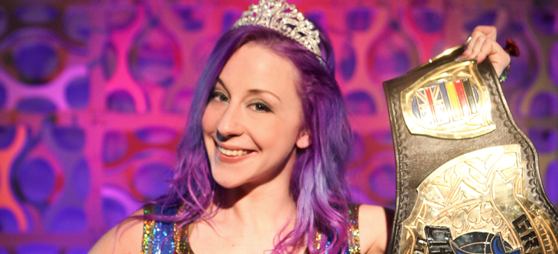 Princess KimberLee of CHIKARA
