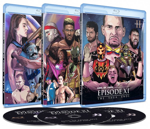 DVD and Blu-Ray Releases   CHIKARA Pro